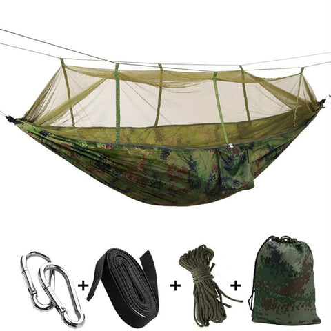 Ultralight Garden/Camping Hunting Mosquito Hammock 2 Person - Market Hoop