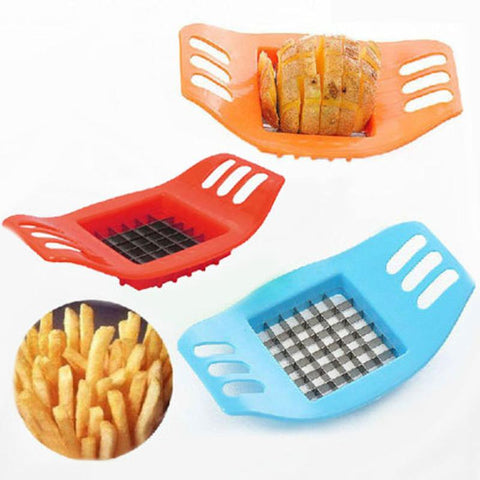 Stainless Steel Potato Cutter Slicer Chopper French Fry Chips - Market Hoop