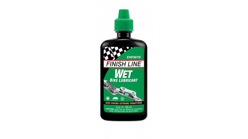 Finish Line Wet Bike Lubricant 120ml