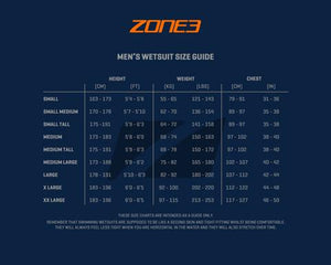 ZONE 3 VISION MEN'S WETSUITE