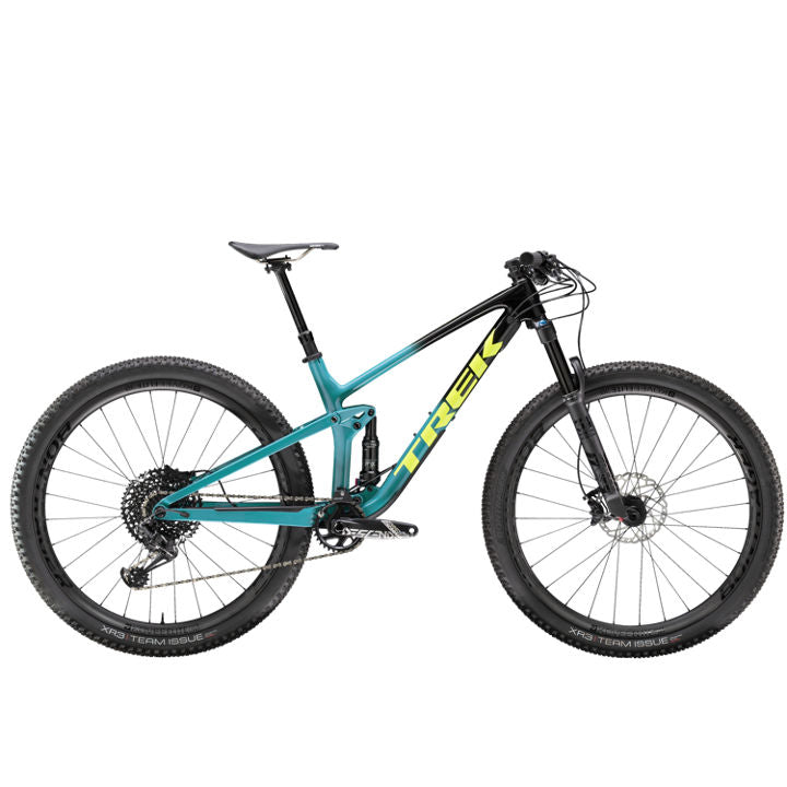 TREK TOP FUEL 9.8 GX BLACK/TEAL DEMO