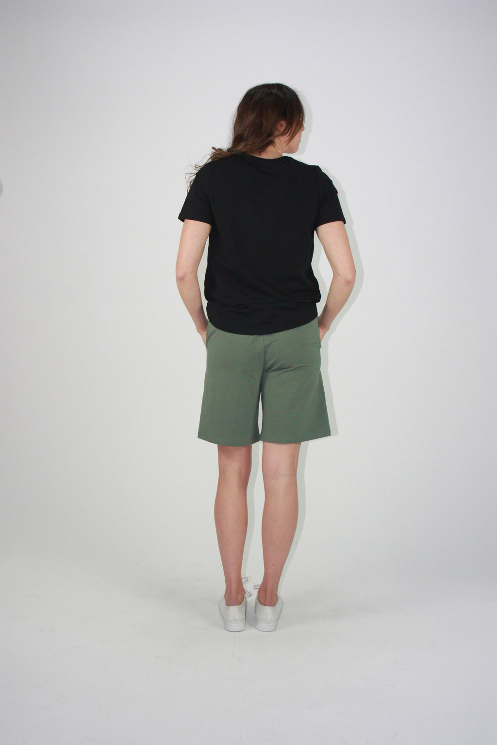Everyday Drawstring Shorts Khaki