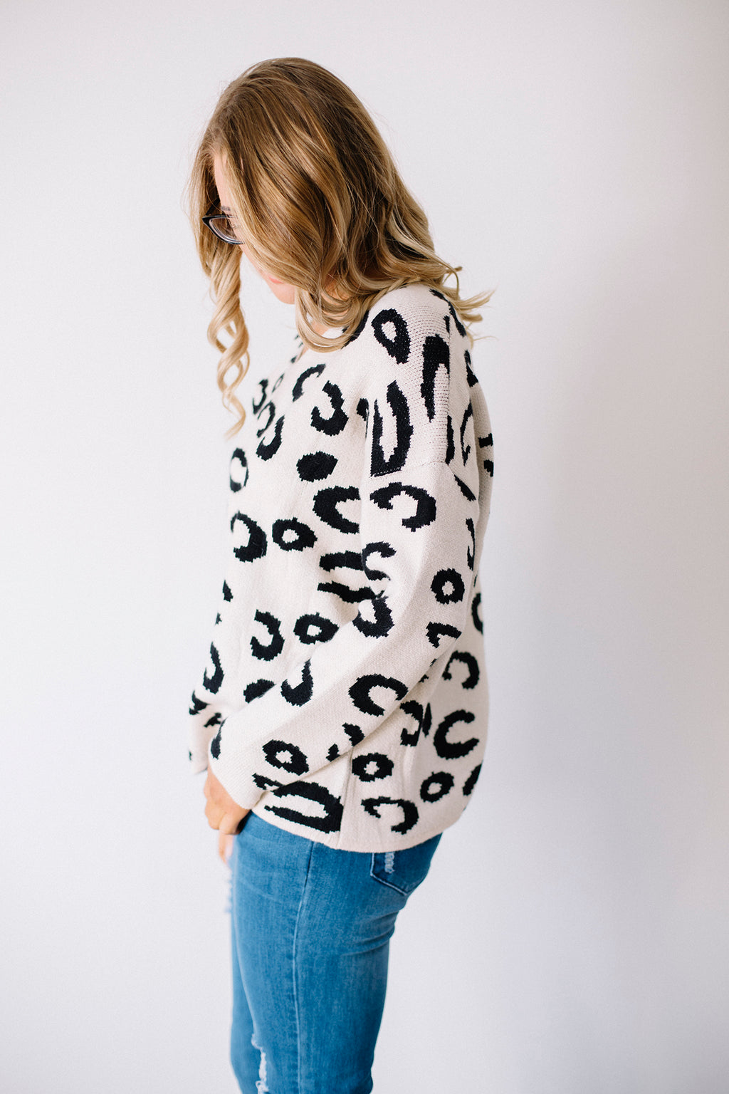 Aries Leopard Jumper