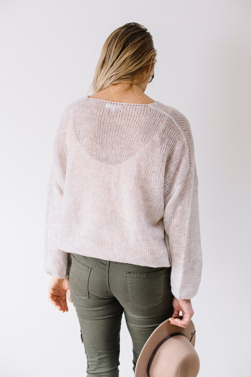 Daisy Knit - Cream