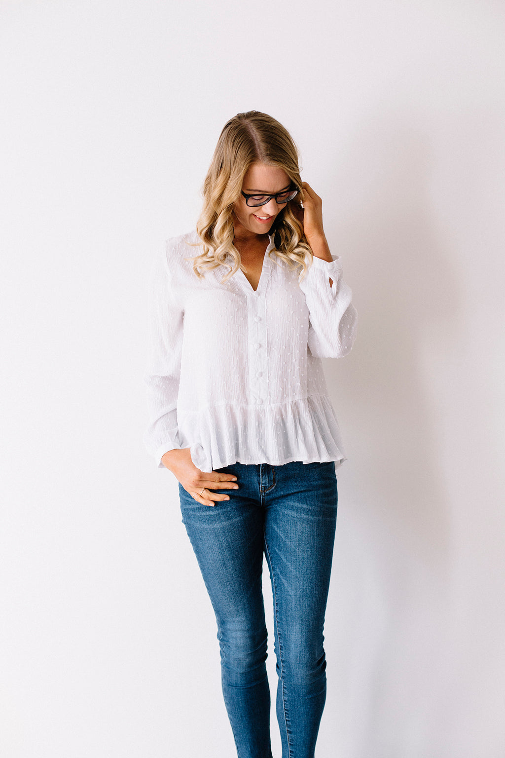 Marilyn Blouse - White