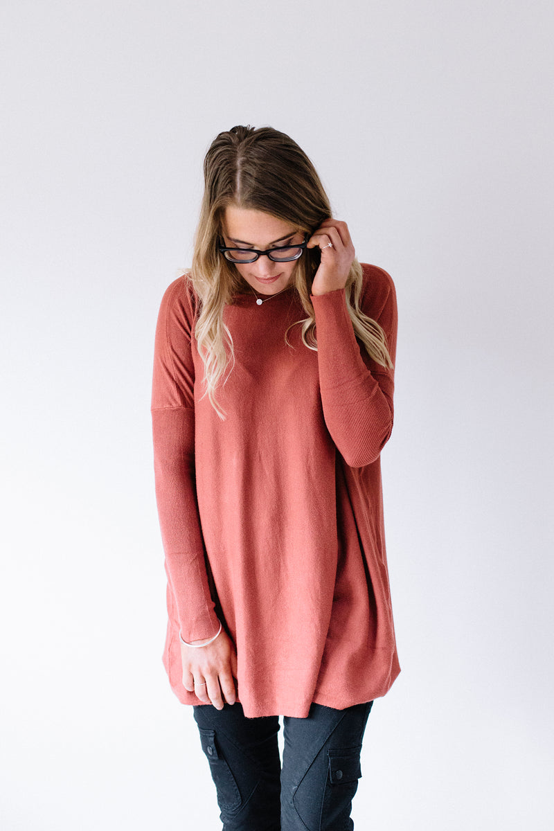 Demi Knit - Terracotta