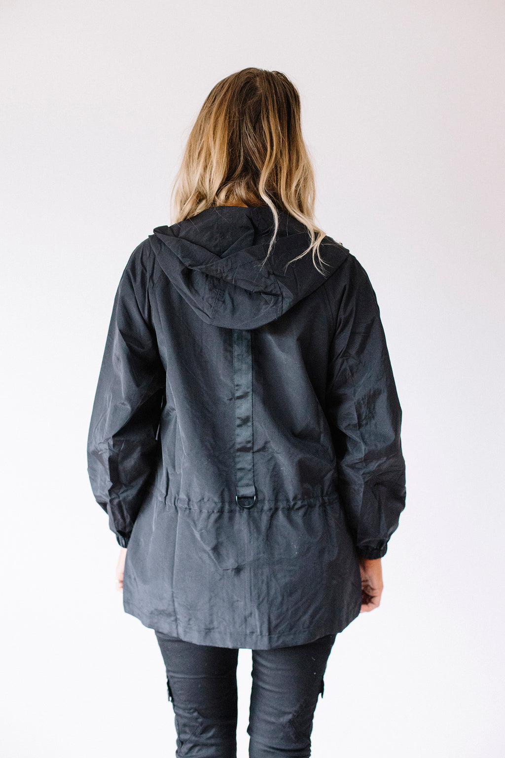 Anorak Jacket Black