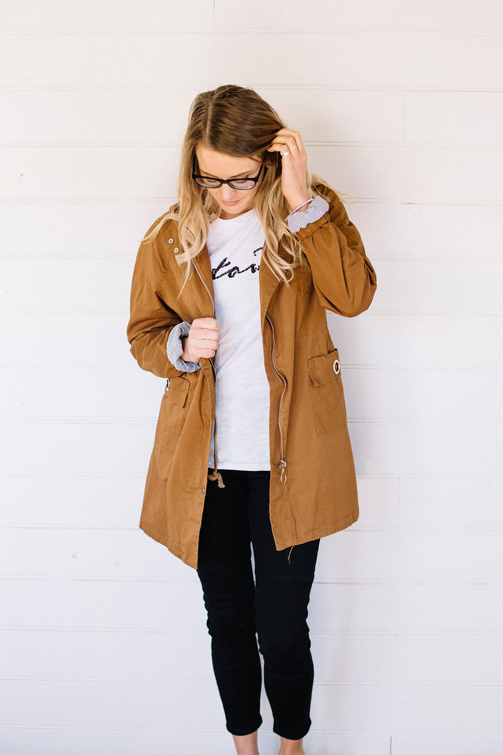 Anorak Jacket Tan