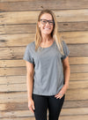 Saffy Tee - Grey