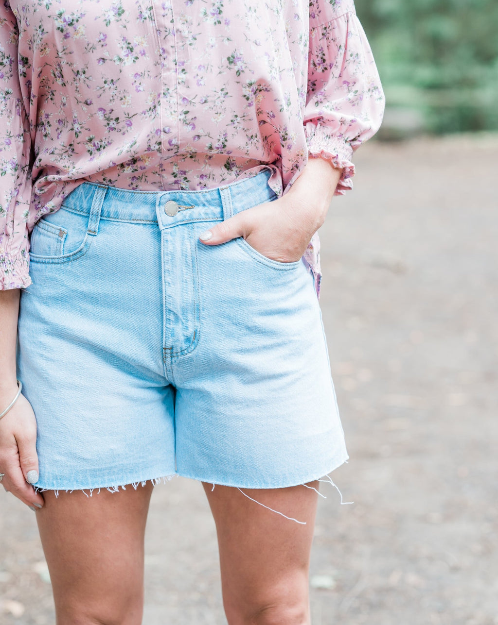 Nikki Denim Shorts