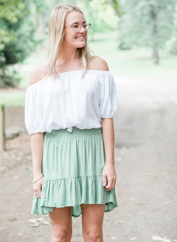Ashley Denim Skirt