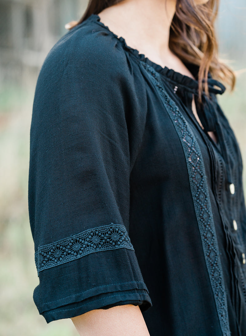 Aria Blouse - Black