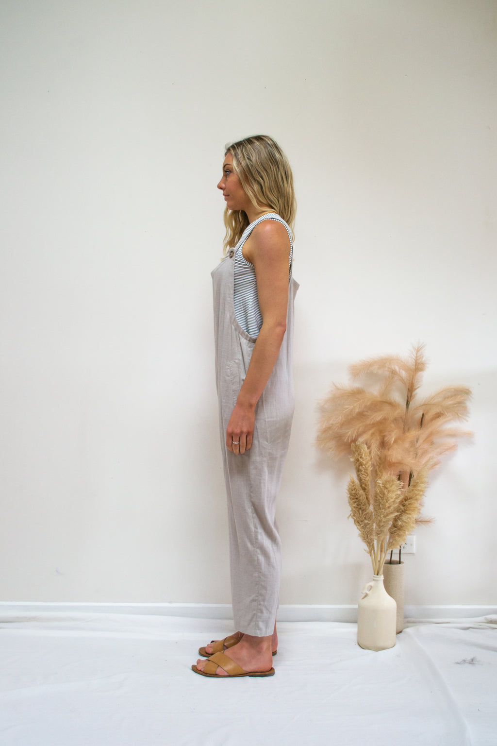 Elwood Jumpsuit Natural