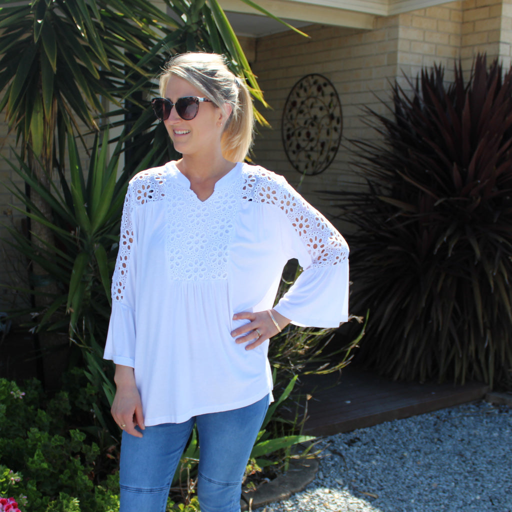 Karli Top - White