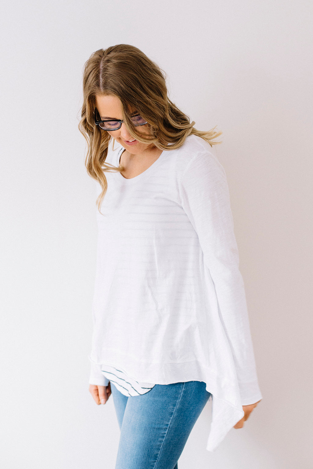 Willow Tee - White