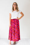 Poppy Pleat Skirt