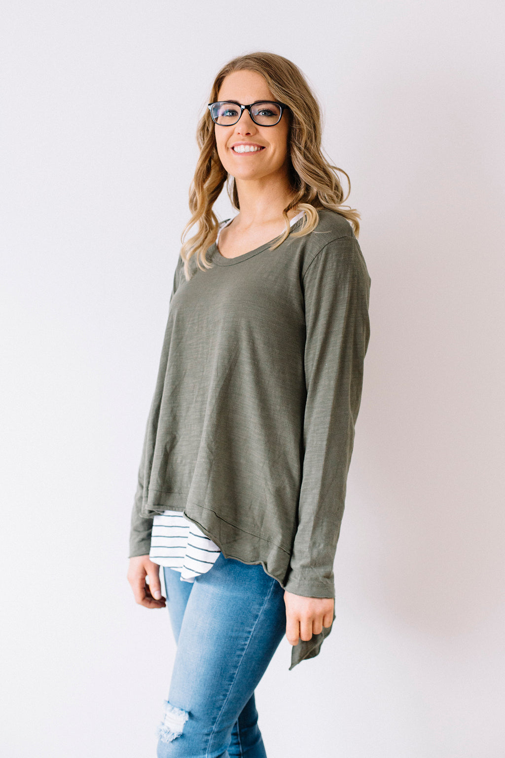 Willow Tee - Khaki