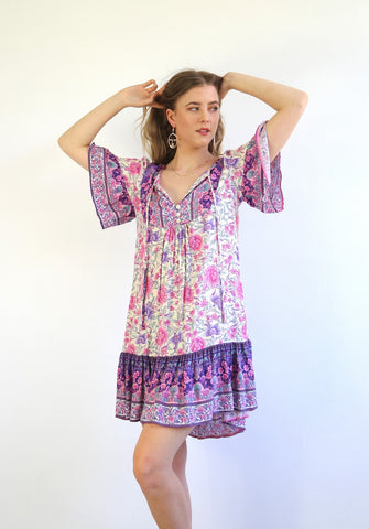 Libby Dress Purple