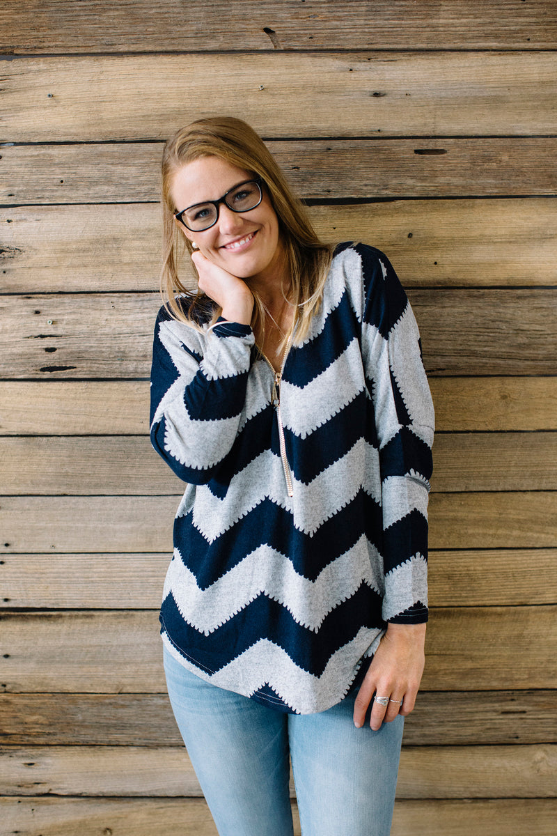 Tania Chevron Top