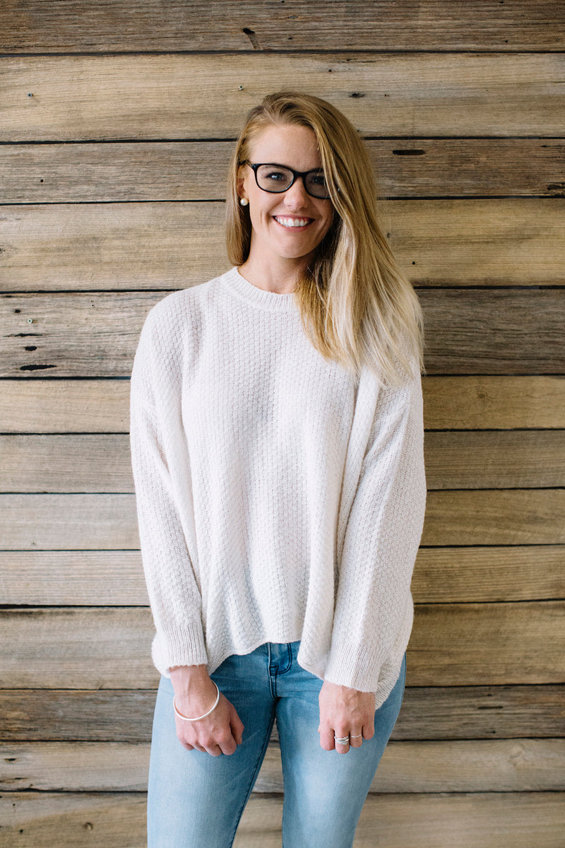Freya Knit Cream