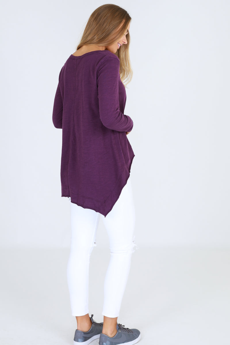 Willow Tee - Violet