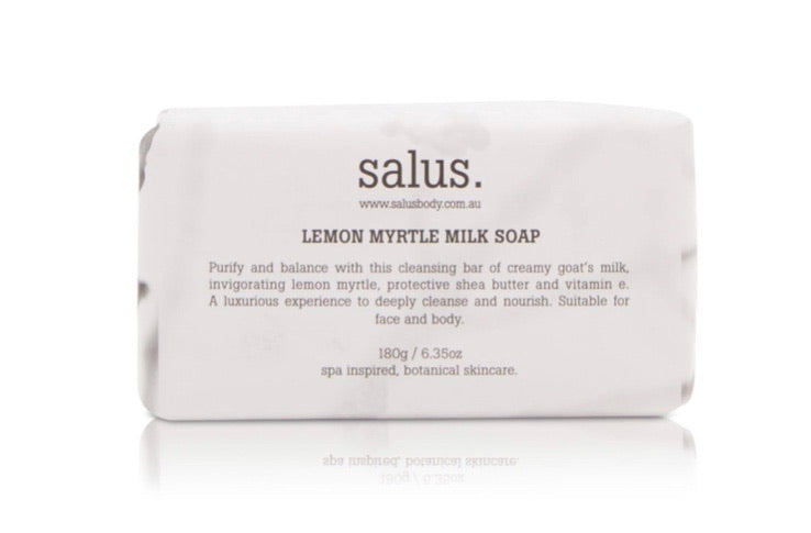 Salus Milk Soap Lemon Myrtle