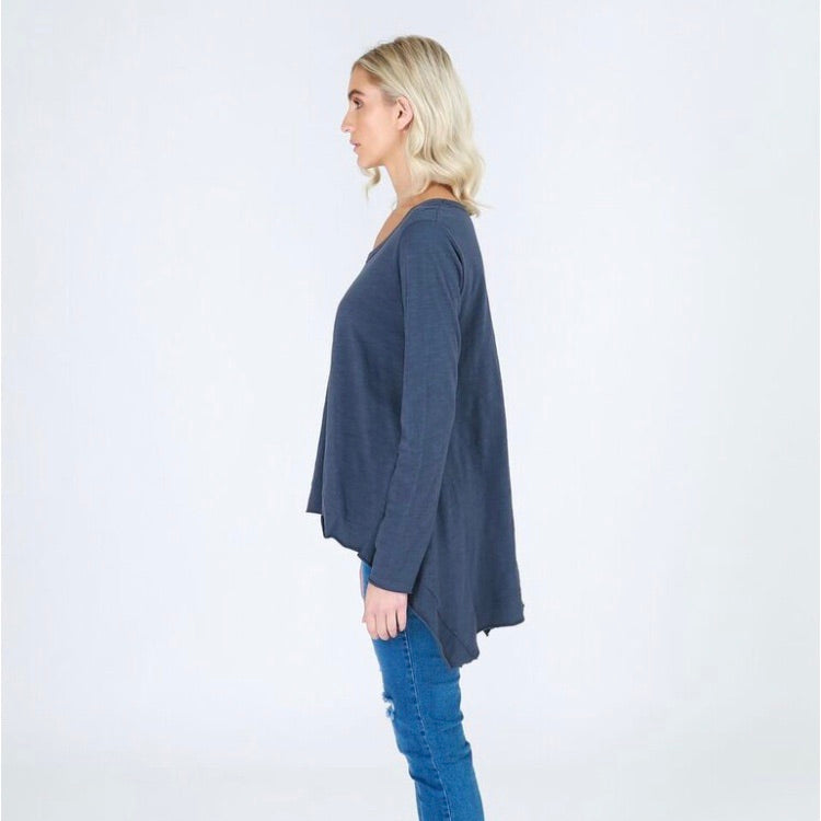 Willow Tee - Indigo