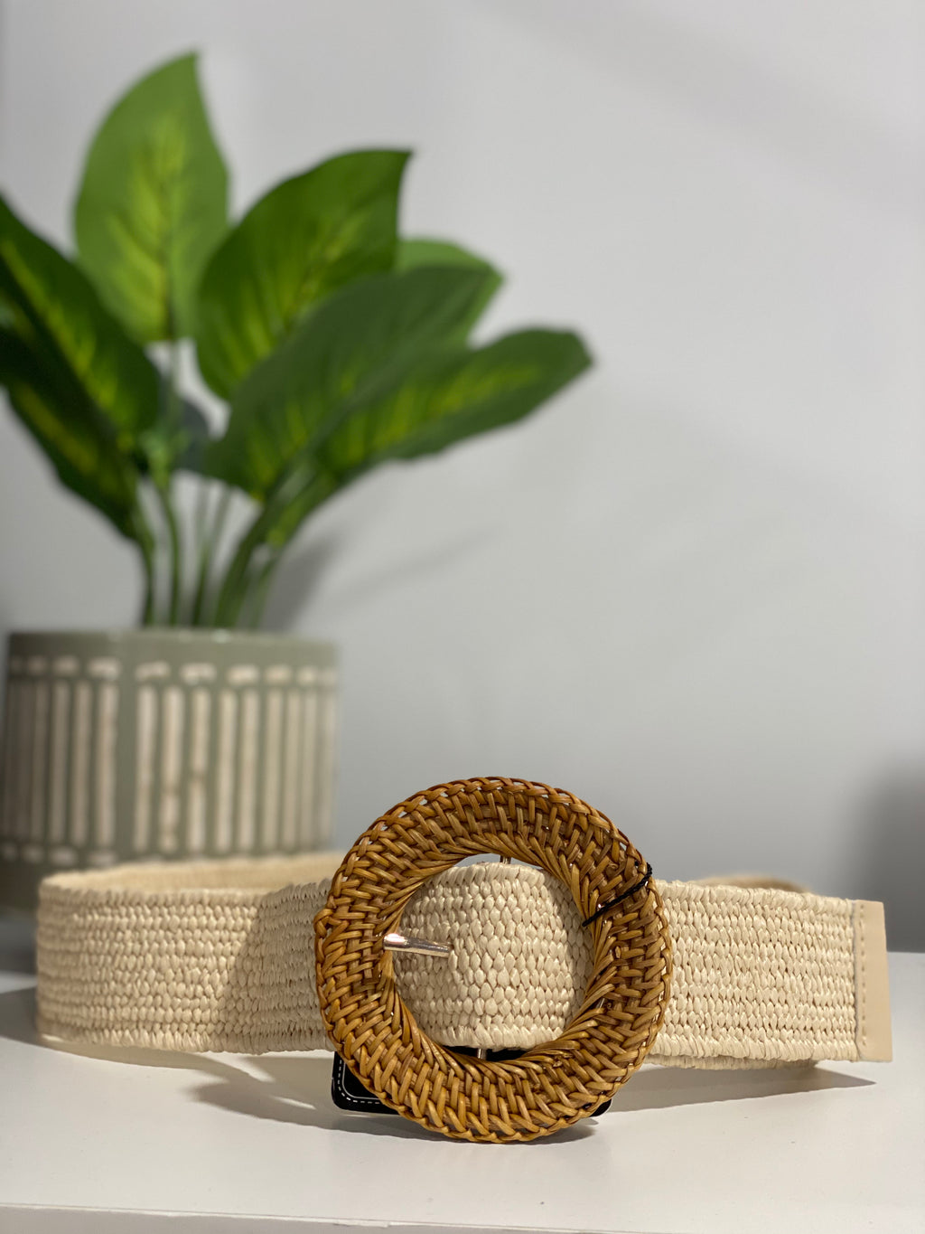 Coastal Rattan Belts
