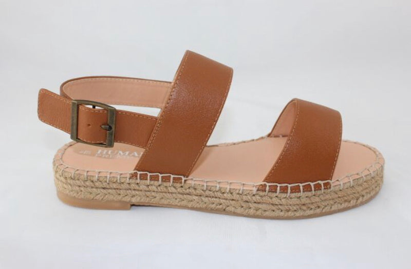 Rory Tan Leather Sandals
