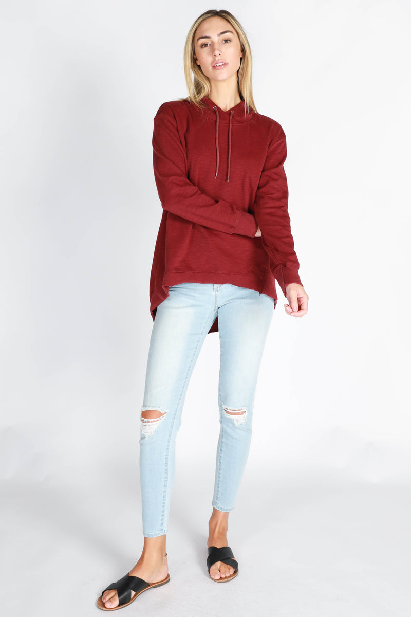 Kendall Sweater - Wine