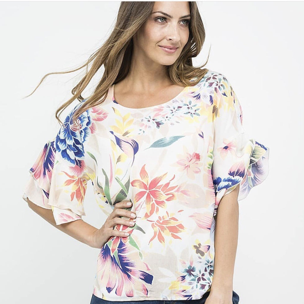 Threadz Floral Top