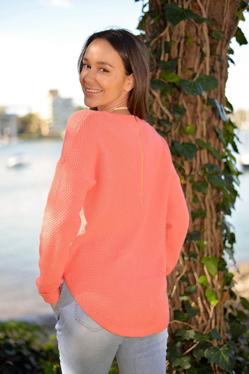Livina Knit - Coral