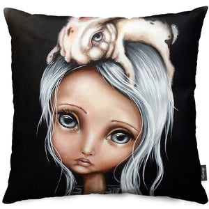 Bunny Couture Throw Pillow