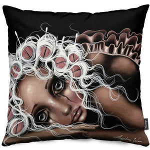 Dryin' the Dishes Throw Pillow