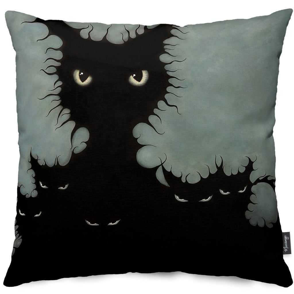 The Coven Throw Pillow