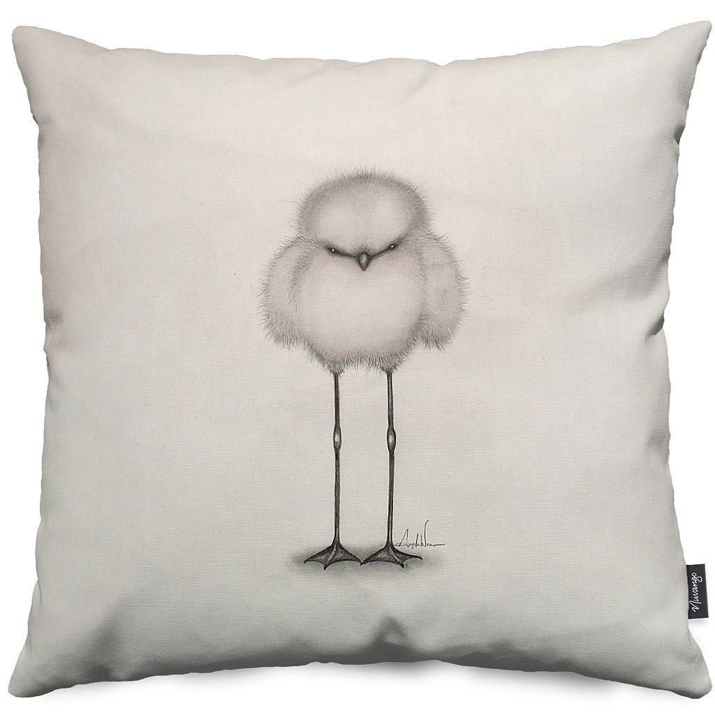 Vlad Sketch Throw Pillow