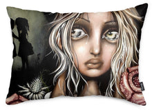 Pssst Throw Pillow