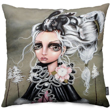 Angora Throw Pillow