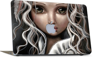 Timide Lapin Laptop Skin