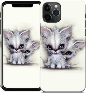 Phone - Fang and Taz iPhone Case