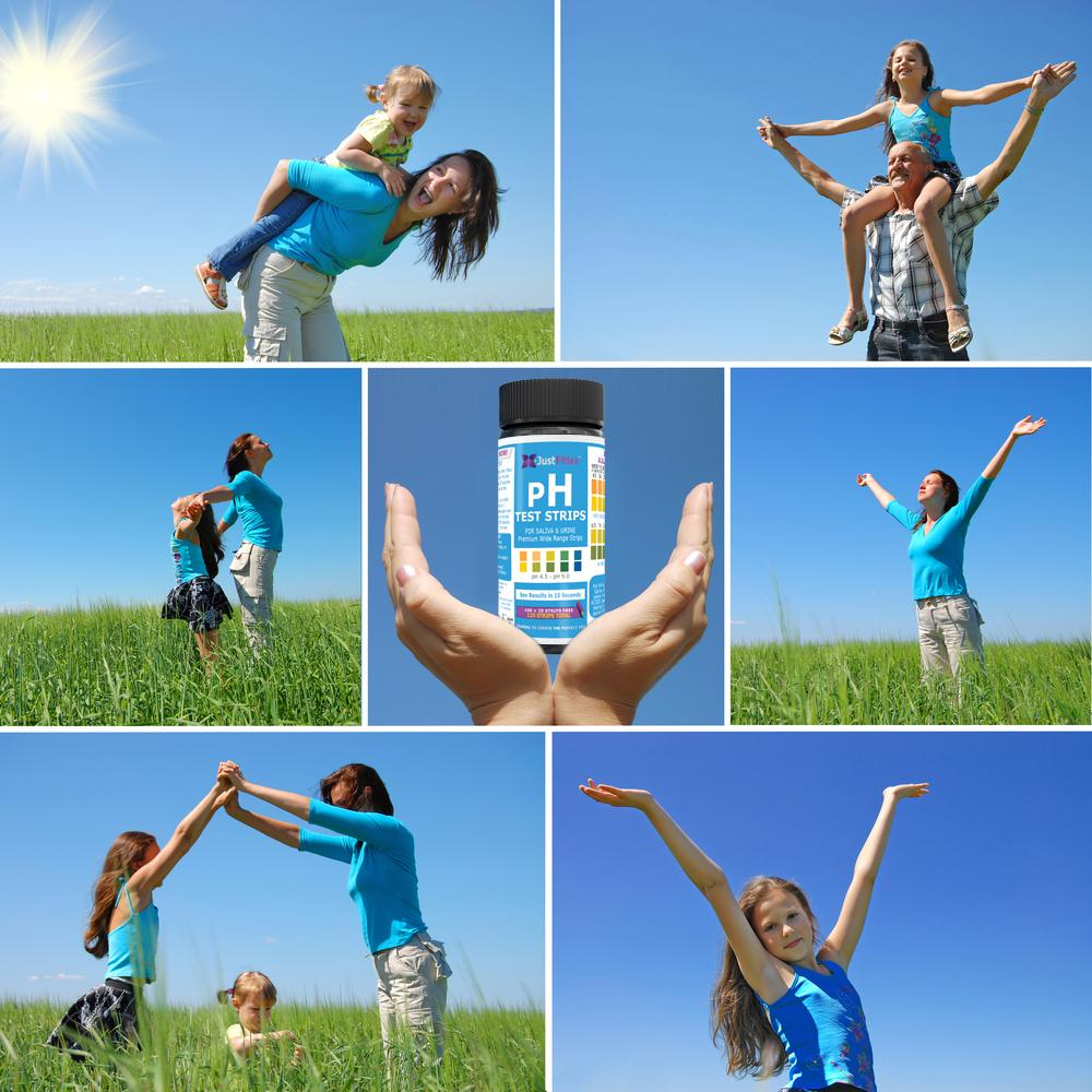 pH Test Strips  (100 strips + 25 free)  For Testing Alkaline and