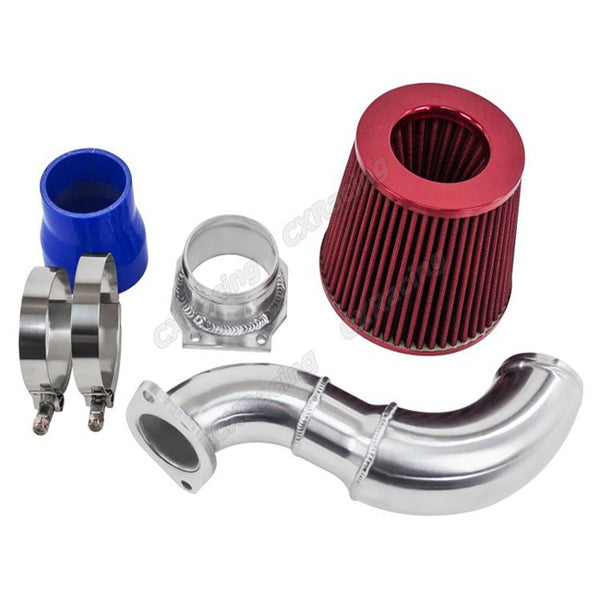 CXRacing - Turbo Air Intake Pipe Filter MAF Flange Kit For S13 SR20DET SR20 (AI-SR20-Stock-S-N62-MAF-FLANGE)
