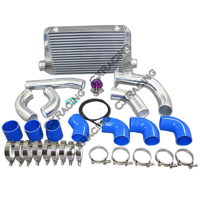 CXRacing - Front Mount Intercooler + Piping Kit For 84-91 BMW 3-Series E30 (KIT-BMW-E30-IC0006)