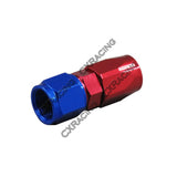 CXRacing - AN 4 AN4 4AN STRAIGHT REUSABLE HOSE END ANODIZED ALUMINUM OIL FITTING (OF-AN4-S)