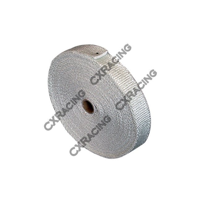 CXRacing - FIBER GLASS EXHAUST HEAT HEADER WRAP TURBO 1/16