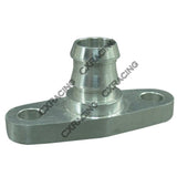 CXRacing - TURBO OIL RETURN DRAIN FLANGE , BILLET ALUMINUM CNC MADE, FITS MOST TURBOS (TRB-FLG-DRAIN)