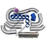 CXRacing - Front Mount Intercooler Piping Kit For 96-04 Ford Mustang 4.6L V8 (KIT-MSTG-9604-46SC-BOV)