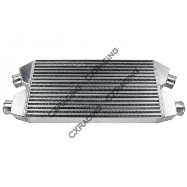 CXRacing - TWIN TURBO INTERCOOLER FOR NISSAN 300ZX AUDI S4 30X11.25X3 BAR & PLATE (IC0020)
