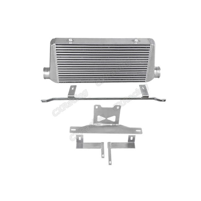 CXRacing - 31X12X3 INTERCOOLER + MOUNTING BRACKET FOR 05-14 FORD MUSTANG 3