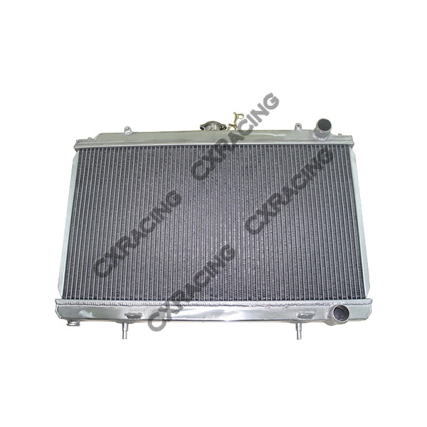CXRacing - Radiator For 95-99 Nissan 240SX S14 with KA24 (Stock US Model) Engine 25